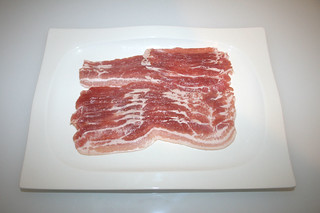 02 - Zutat Bacon / Ingredient bacon