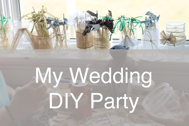 Wedding DIY Party