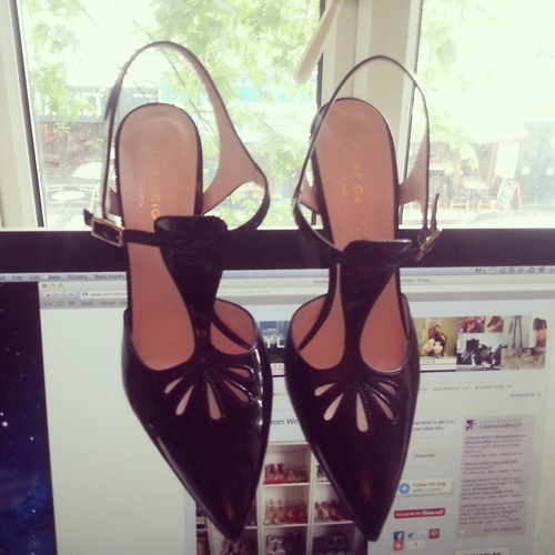 Carrie in black by Kurt Geiger London