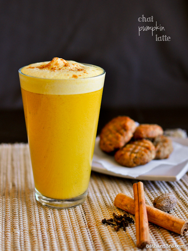 Vegan Chai Pumpkin Latte