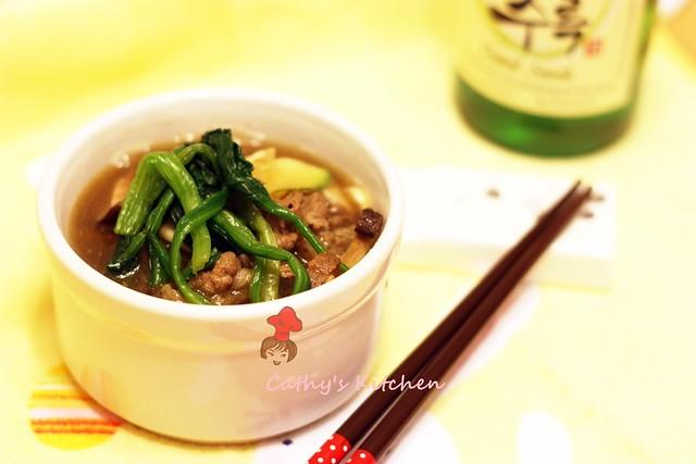 韓式烤肉粉絲湯  BulGoGi Soup 1