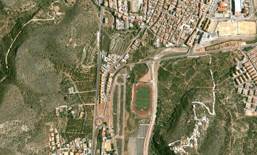 vall d'uxo, vall d'uixó, castellón, comunidad valenciana, antes, urbanismo, foto aérea, desastre, urbanístico, planeamiento, urbano, construcción