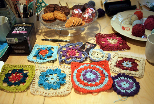 Crochet class at Loop London