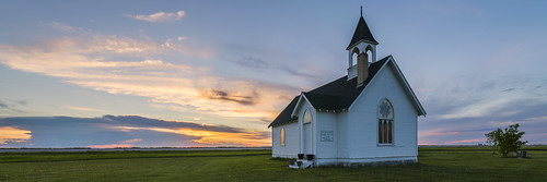 sunset panorama canada church clouds landscape vibrant manitoba prairie hdr nelepl nkond600