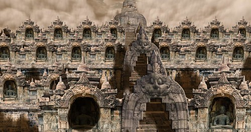 Borobudur Temple by Kara 2