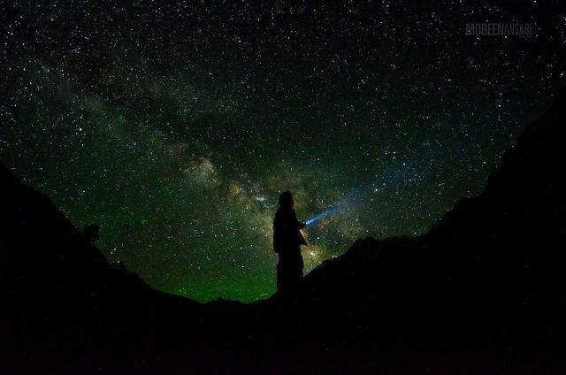 Lighting up the skies of North Pakistan