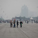 Pékin. Brumes matinales.