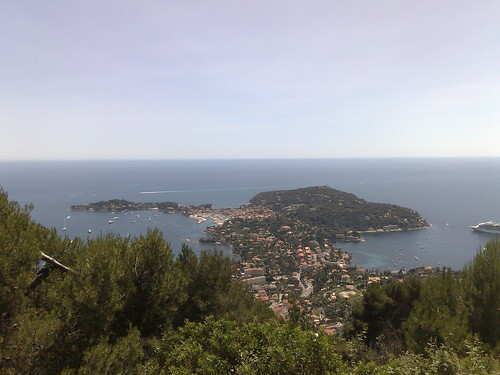 View of Cap Ferrat