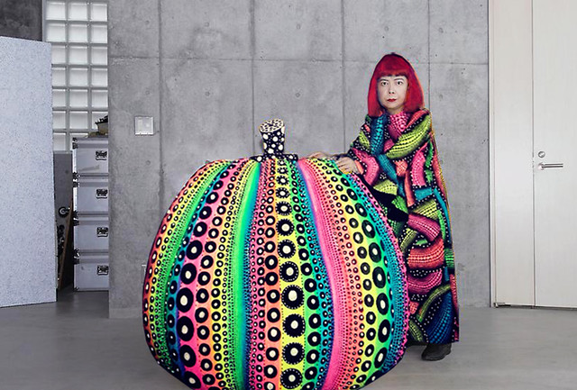Playing with Yayoi Kusama by Luna Portnoi