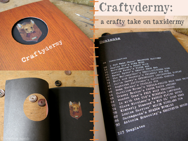 Craftydermy: a crafty take on taxydermy | Emma Lamb
