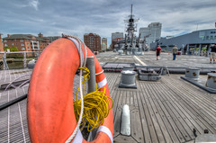 USS Wisconsin HDR