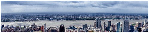 Panorama from the top of the Empire State Building by Victor Solanoy