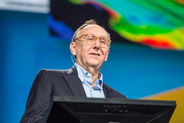 Jack Dangermond at the 2013 Esri UC Plenary