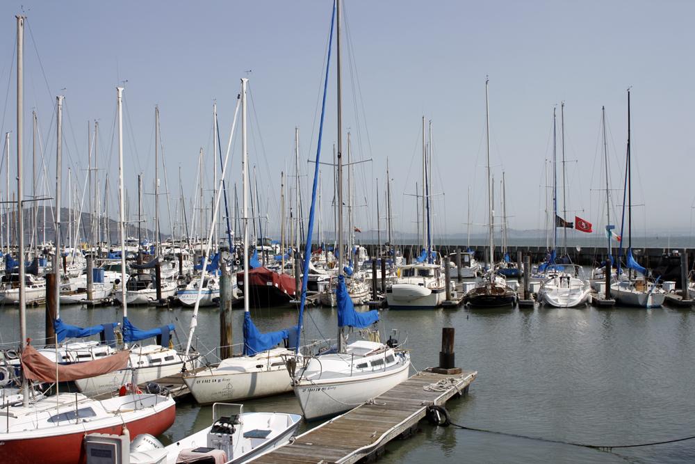 Pier 39 boats - San Fran, California