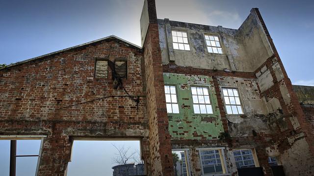docklands ruin