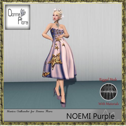 Donna Flora purple