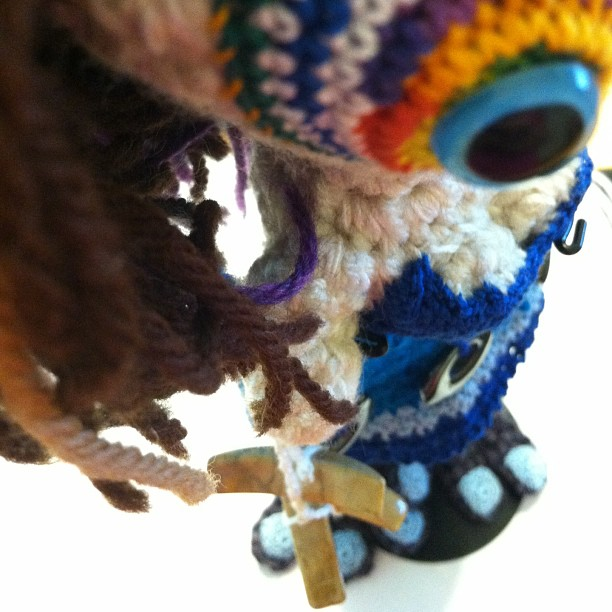 Lady Monster WIP by Knot By Gran'ma: Pleasant Surprises