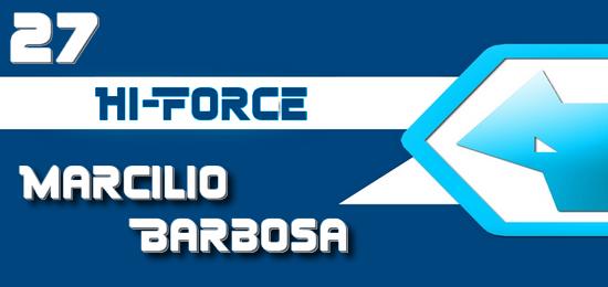 Marcilio Barbosa é o novo piloto da HF