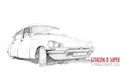 citroen ds by Stefan Marjoram