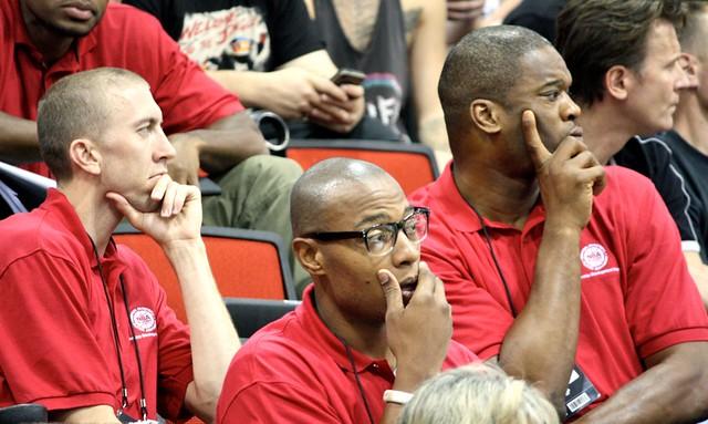 Steve Blake, Caron Butler, Marcus Camby - 2013 NBA Summer League