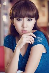 black hair(0.0), sweetness(0.0), gravure idol(0.0), human body(0.0), adolescence(1.0), face(1.0), hairstyle(1.0), model(1.0), portrait photography(1.0), clothing(1.0), skin(1.0), lip(1.0), girl(1.0), head(1.0), japanese idol(1.0), hair(1.0), fashion(1.0), female(1.0), photo shoot(1.0), lady(1.0), long hair(1.0), brown hair(1.0), close-up(1.0), blue(1.0), person(1.0), beauty(1.0), portrait(1.0), eye(1.0), organ(1.0),