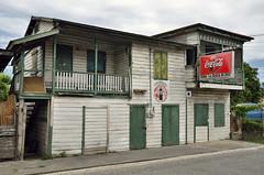 In Belize la maggior parte delle case sono in legno