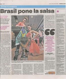 David and Paulina - News - 2013 Primera Hora - 7-29-2013