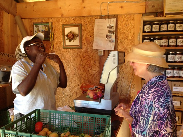 talking vegetables with julia the farmer