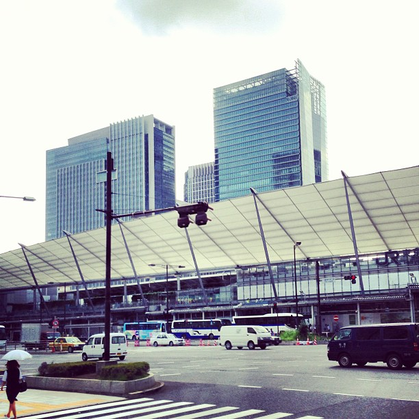 アナハイムに向けて東京駅出発〜!