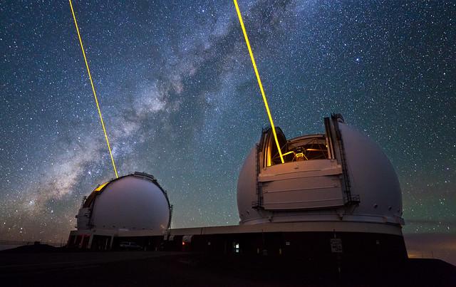 Danse des étoiles au-dessus du volcan Mauna Kea (vidéo)