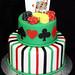 poker & chips cake
