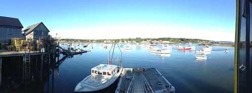 Southwest Harbor - Acadia Park, ME - Panorama