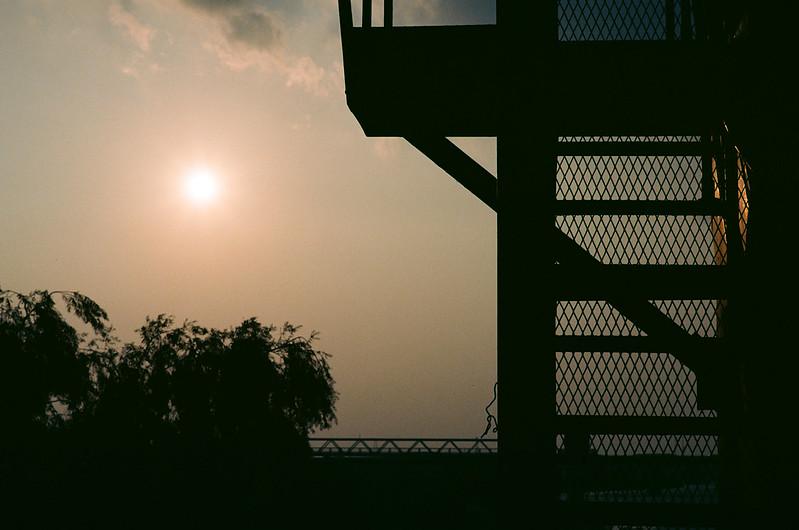 in the twilight of summer season