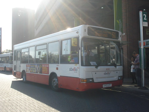 Abellio Surrey 8095 on Route 51, Staines