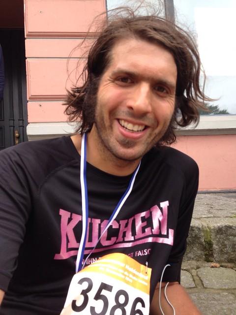 Halbmarathon in Blankenese.
