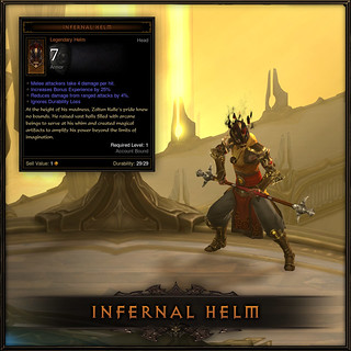 Diablo III for PS3: Infernal Helm