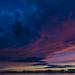 Seattle Clouds Over Puget Sound by Ania César Winiarek