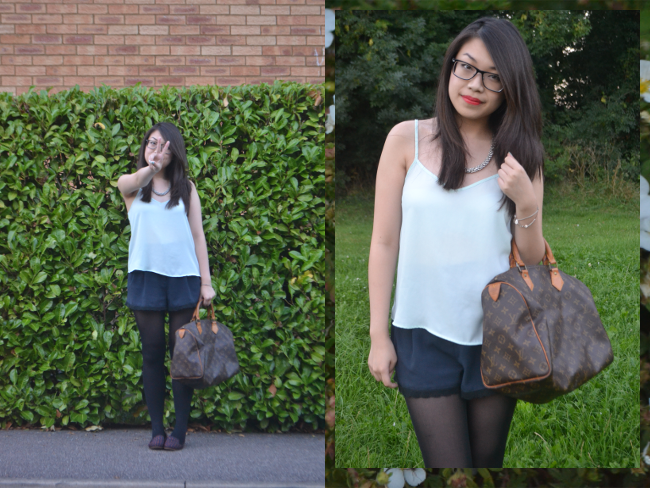 Daisybutter - UK Style and Fashion Blog: what i wore, daily outfit, outfit inspiration, SS13, high street fashion blog, topshop