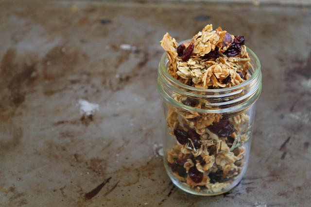 Medium-Big Cluster Maple Granola - gluten free & dairy free