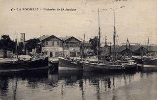La Rochelle: pêcheries de l'Atlantique