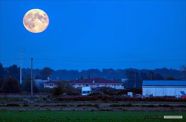 September's Harvest Moon