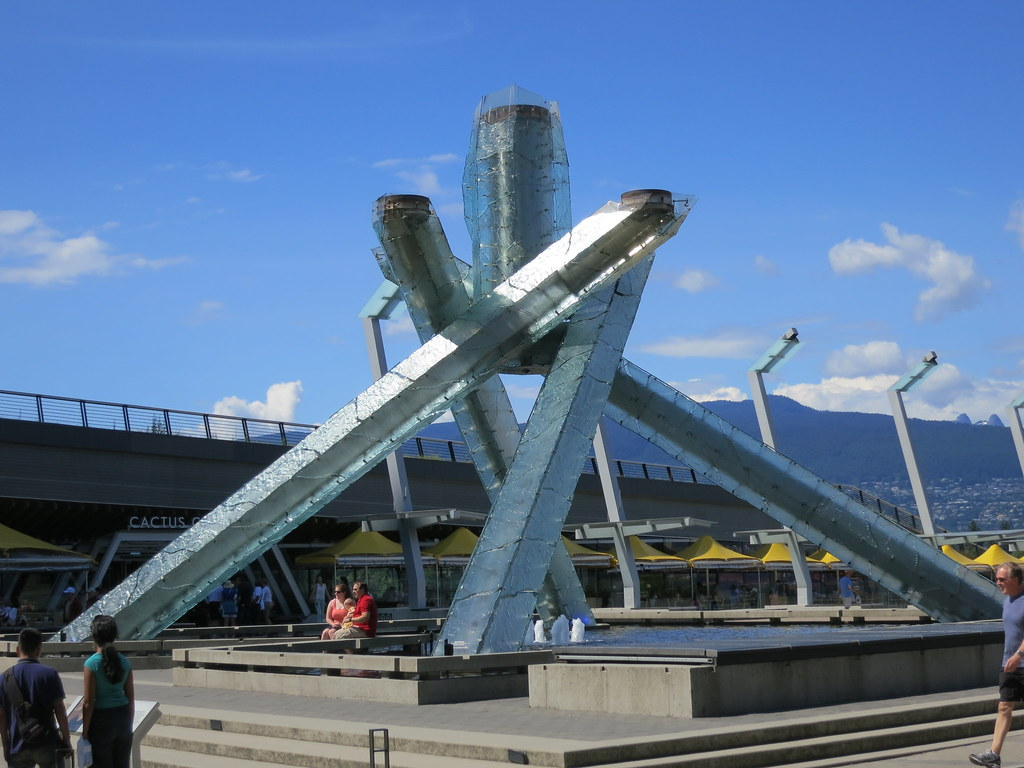 Olympic Torch Vancouver BC