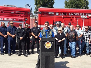 Bereaved Father Inspires LAFD Water Rescue Team