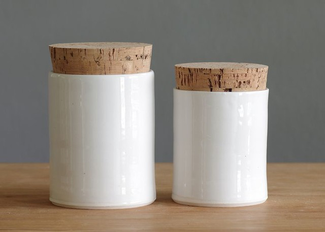 Porcelain canisters