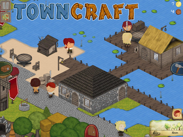 Towncraft - A nice little fishing village