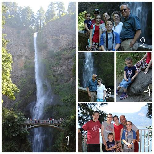 Multnomah Falls Trip 2013