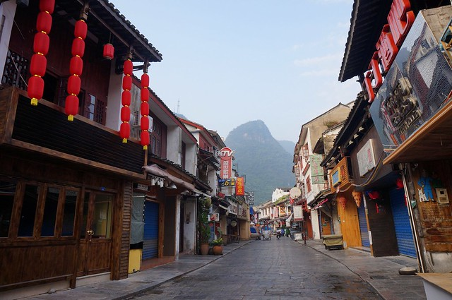 Yangshuo: Karst Mountains as Far as the Eye Can See