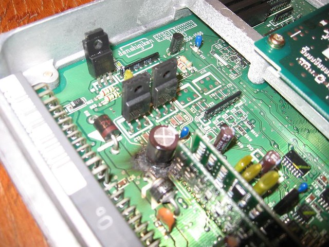 Official Raz Veinz Blogsite » Blog Archive » Car ECU Electrolytic