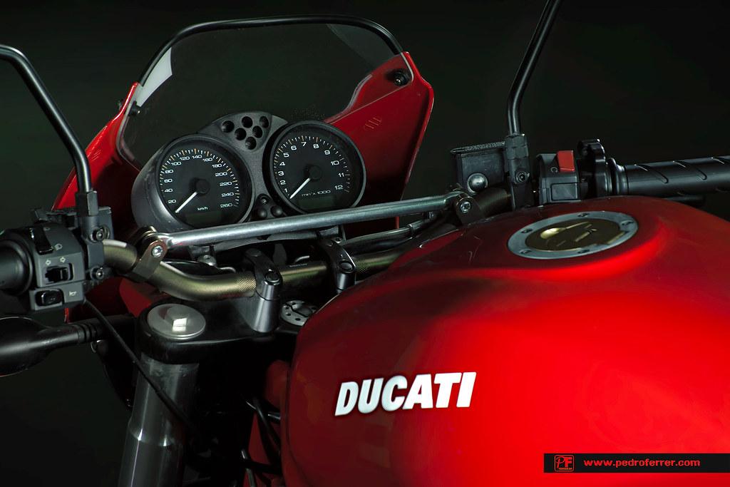 Ducati monster 695 - Detalle