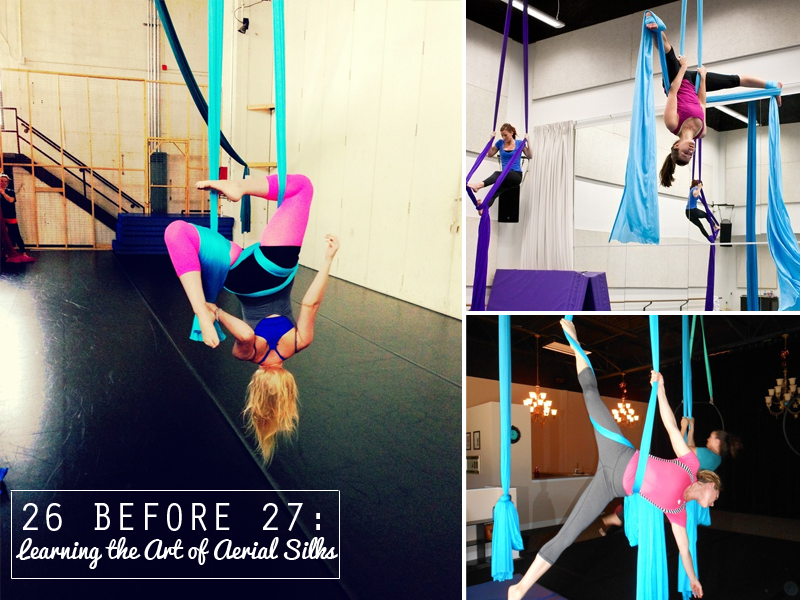 26 Before 27: Learning the Art of Aerial Silks